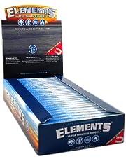 Elements Supreme, cartine ultra sottili, lunghe circa 30 cm, con chiusura magnetica e 2 blocchetti di Trendz