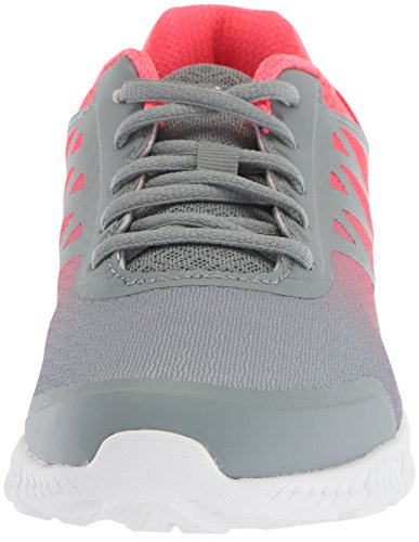Fila Womens Memory Faction 4 Running Shoe Monument/Deep Pink/Metallic Silver Iymclc