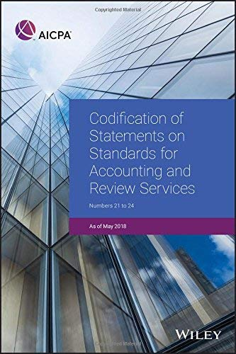 Review Accounting - Codification of Statements on Standards for Accounting and Review Services: Numbers 21-24 (AICPA)