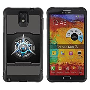 """Hypernova Defender Series TPU protection Cas Case Coque pour SAMSUNG Galaxy Note 3 III / N9000 / N9005 [abstracto""""]"""
