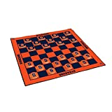 Victory Tailgate Syracuse University Orange 2-in-1 Giant Checkers & All Weather Mat