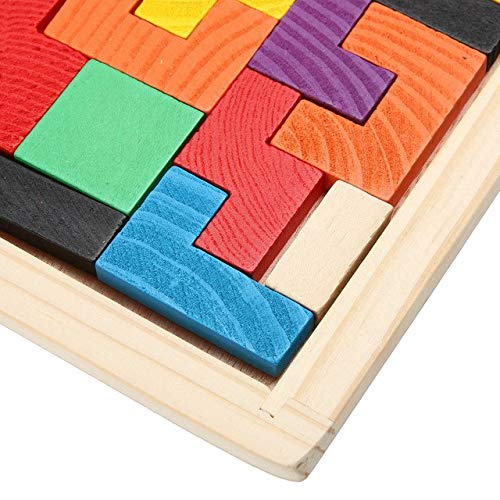 Amazon.com: Puzzle de madera Jigsaw Board Game Brain Teaser ...