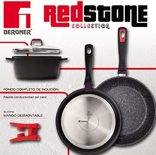 Bergner Red Stone - plancha/Grill.