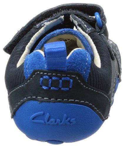 Clarks Tiny Soft 20355107 Baby Jungen Krabbelschuhe Blau (Blue Combi Lea)