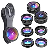 #2: GUANZHI 7 in 1 IPhone Lens - Transform Your iPhone Into A Professional Quality Camera - Fish Eye - Wide Angle - Zoom for IPhone X, 8, 8 Plus, 7, 7 Plus, 6s, 6, 5s & Most Smartphones