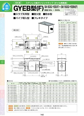 GYEB型(F) SK-100G-YEB(F) 耐荷重蓋仕様セット(マンホール枠:ステンレス / 蓋:ステンレス) T-14