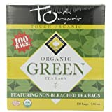 Touch Organic Green Tea Cube, 100 Count, 7.05-Ounce Boxes (Pack of 4) by Touch Organic