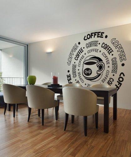 Amazon.com: Vinyl Wall Decal Sticker Coffee Shop OS_DC180s: Home U0026 Kitchen Part 92