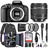Canon EOS Rebel T7i DSLR Camera with 18-55mm is STM Lens...