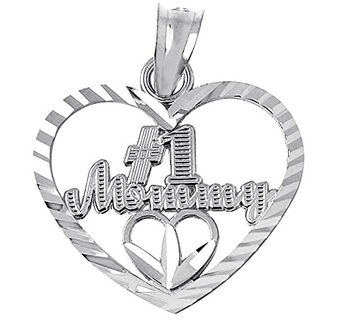 Buy factory direct jewelry #1 mom gold heart pendant