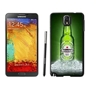 Samsung Galaxy Note 3 Cover Case,Heineken 3 Black Cool Customized Samsung Galaxy Note 3 Case
