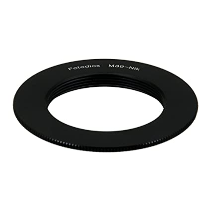 Fotodiox Lens Mount Adapter Compatible with M39/L39 (x1mm Pitch) Lenses to  Nikon F-Mount Cameras