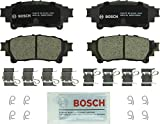Bosch BC1391 QuietCast Premium Ceramic Disc Brake Pads: Lexus GS200t - GS350 - GS450h - GS IS Turbo - IS200t - IS250 - IS300 - IS350 Turbo - RC350 - RX350 - RX450h; Toyota Highlander - Mirai - Prius - Sienna - Rear