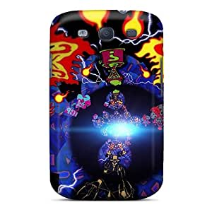 Shock-dirt Proof Walk Into The Light Case Cover For Galaxy S3