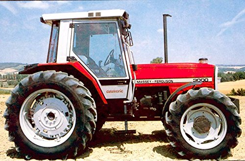 1987 Massey Ferguson 3000 Tractor Photo (Massey Ferguson Factory)