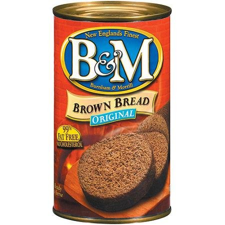 B&M Bread Brown Original 16-Ounce (Pack of 2) (Brown Bread In A Can)