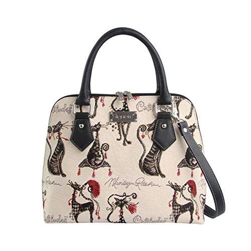 Signare Tapestry Ladies Handbag in a choice of patterns Catitude