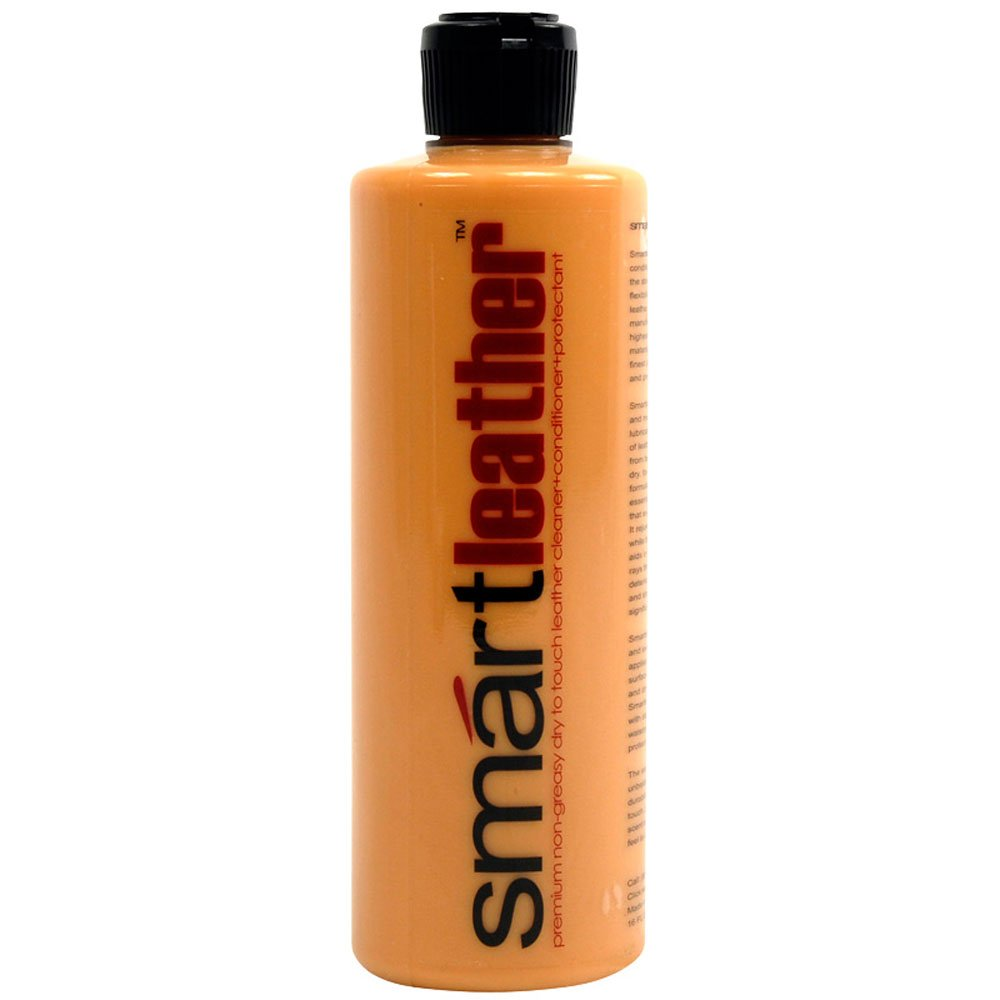 Smartwax 30100 SmartLeather Premium Leather Cleaner and Conditioner with Real Leather Scent - 16 oz.