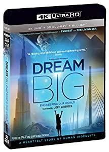 IMAX: Dream Big: Engineering Our World (4K UHD/3D Bluray) [Blu-ray] from Shout! Factory