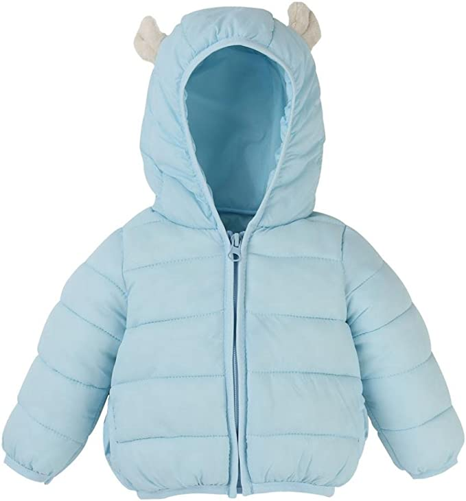 FORESTIME Cute Newborn Baby Girls Boys Long Sleeves Bat Hooded Jackets Cotton Solid Coat Kids Outwear Clothes