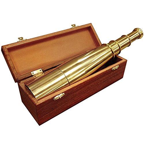 BARSKA 18x50 Collapsible Spyscope w/Storage Chest by BARSKA