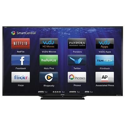 Sharp LC-90LE657U 90-inch Aquos HD 1080p 120Hz 3D Smart LED TV