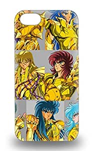 Cute Tpu Japanese Saint Seiya Saint Seiya KnightsoftheZodiac 3D PC Soft Case Cover For Iphone 5/5s