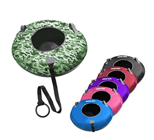 Slippery Racer Grande XL Commercial Inflatable Snow Tube Sled - Camo