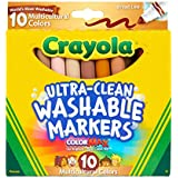 Crayola Ultraclean BL Multicultural Markers (10...