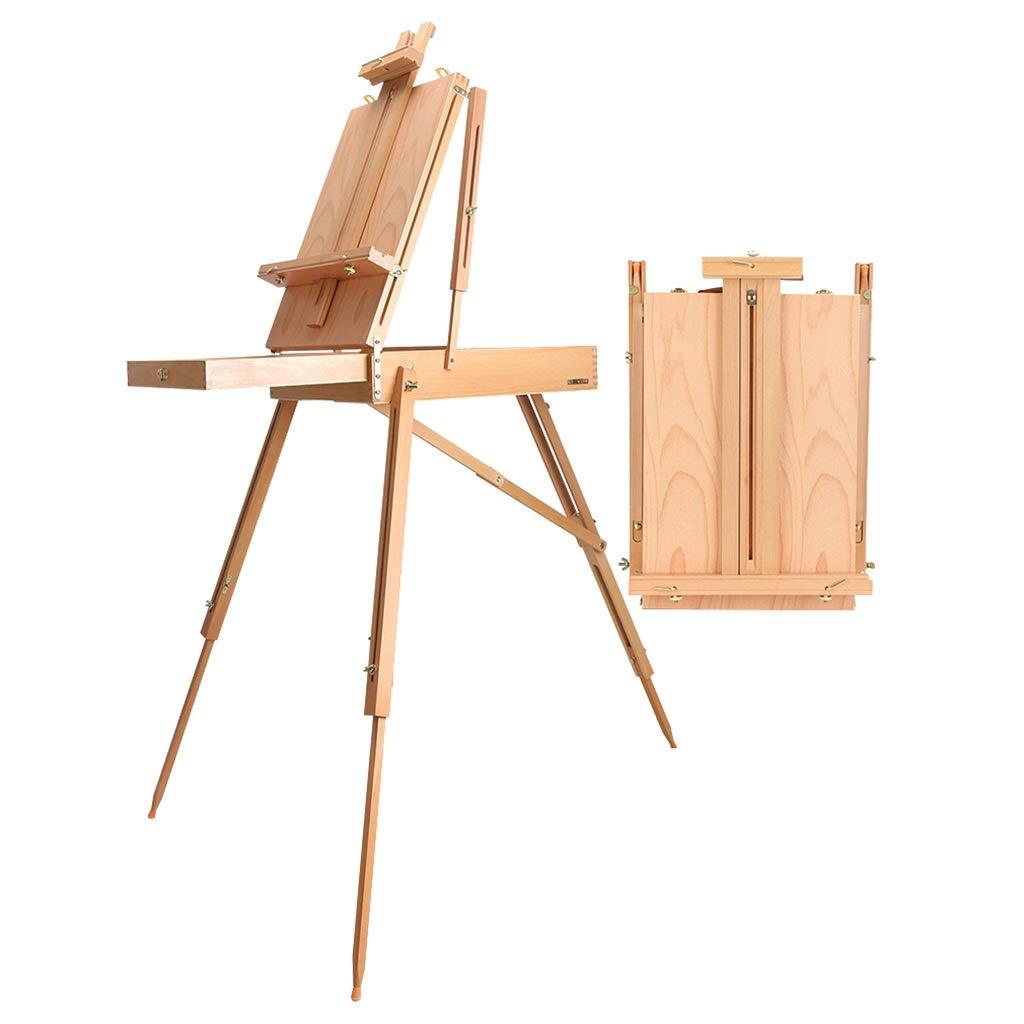 イーゼル、スタジオイーゼル、油絵ボックス、折りたたみトレイイーゼル、71.7インチ/ 182 cm (版 ばん : A) A  B07S1TBP1K