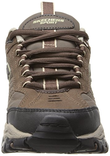 Brown Taupe Energy Skechers Downforce Sport Lace Sneaker Up Men's xpg48pUn0