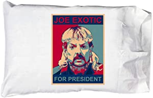 Hat Shark Pillow Case Single Pillowcase - Joe for Office King of Tigers Songwriter Extraordinaire (President)