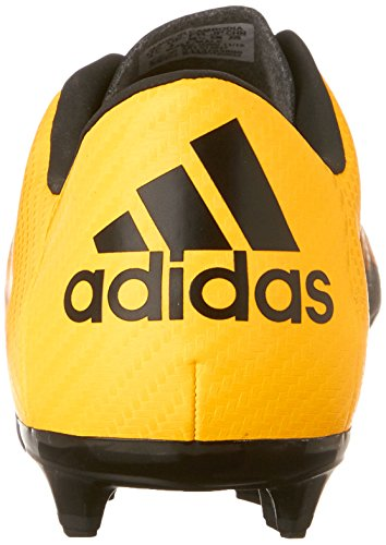 adidas Performance X 15,3 fgag J fútbol zapatos (poco Kid/Big Kid) Gold/Black/Shock Pink