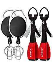 """SAMSFX Quick Knot Tool Fishing 4 in 1 Line Clipper 3.7"""""""