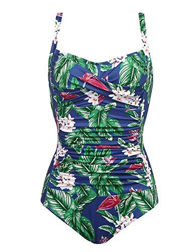 2a250d88d37 3 · Ekouaer One Piece Swimwear Women · Ekouaer One Piece Swimwear Women's  Tummy Control Swimsuit Push up Bathing ...