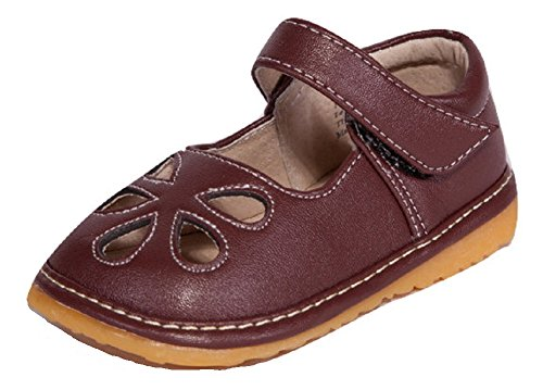 brown-flower-punch-mary-jane-toddler-girl-squeaky-shoes-3