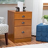 Belham Living Cambridge 3-Drawer Filing Cabinet - Light Oak