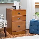 Belham Living Cambridge 3-Drawer Filing Cabinet - Light Oak