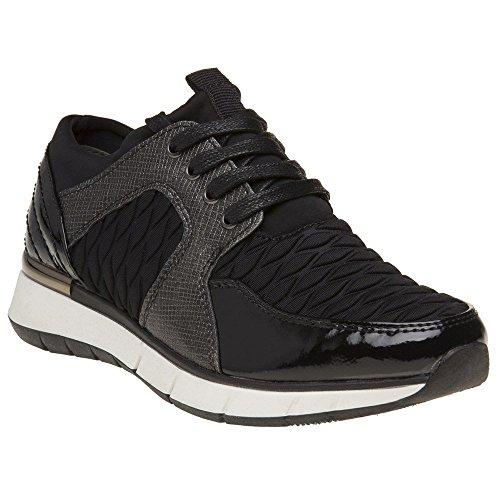 Marco Tozzi 23726 Damen Sneaker Schwarz Schwarz