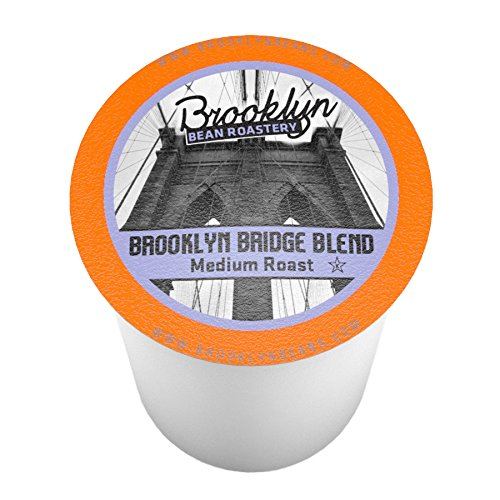 Brooklyn Beans Brooklyn Bridge Blend Single-Cup coffee for Keurig K-Cup Brewers, 40 Count (Brooklyn Bridge 1)