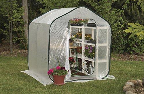 Amazon.com : Flower House FHSP300 SpringHouse Greenhouse : Free Standing  Greenhouses : Garden U0026 Outdoor