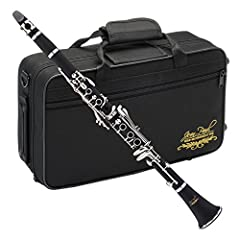 Combining an elegant ebonite body with nickel keys, the Jean Paul USA CL-300 clarinet boasts beautiful design and sound while maintaining a low price point. That makes it the perfect choice for band students and others learning to play the cl...