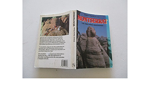 Montserrat, las mas bellas ascensiones: Amazon.es: Garcia ...