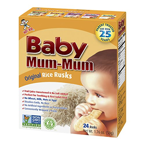 Hot Kid Mum Mum Rusks Original pieces product image