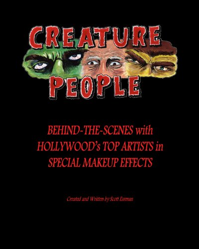 [CREATURE PEOPLE - Behind-the-Scenes with Hollywood's Top Artists in Special Makeup Effects] (Dracula Makeup)