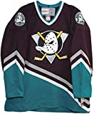 Vintage Mighty Ducks of Anaheim 1997-2003 Purple Hockey Jersey (Medium)