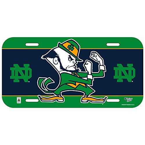 Notre Dame Fighting Irish License Plate Fighting Irish