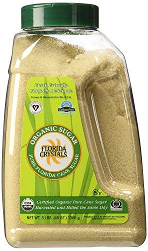 Florida Crystals Organic Sugar Jug, 48 Ounce (pack Of 6)