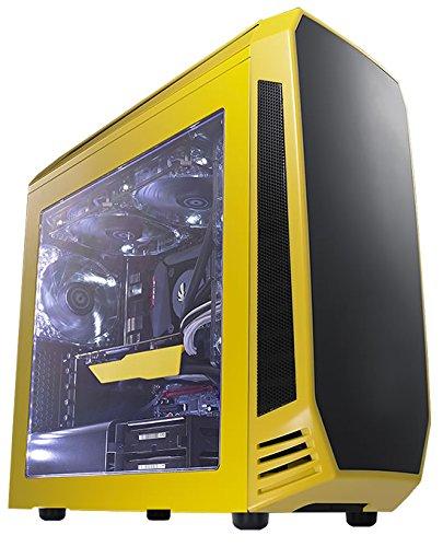 UPC 886027012178, BitFenix Case BFC-AEG-300-YKWN1-RP AEGIS CORE Window Micro ATX Yellow