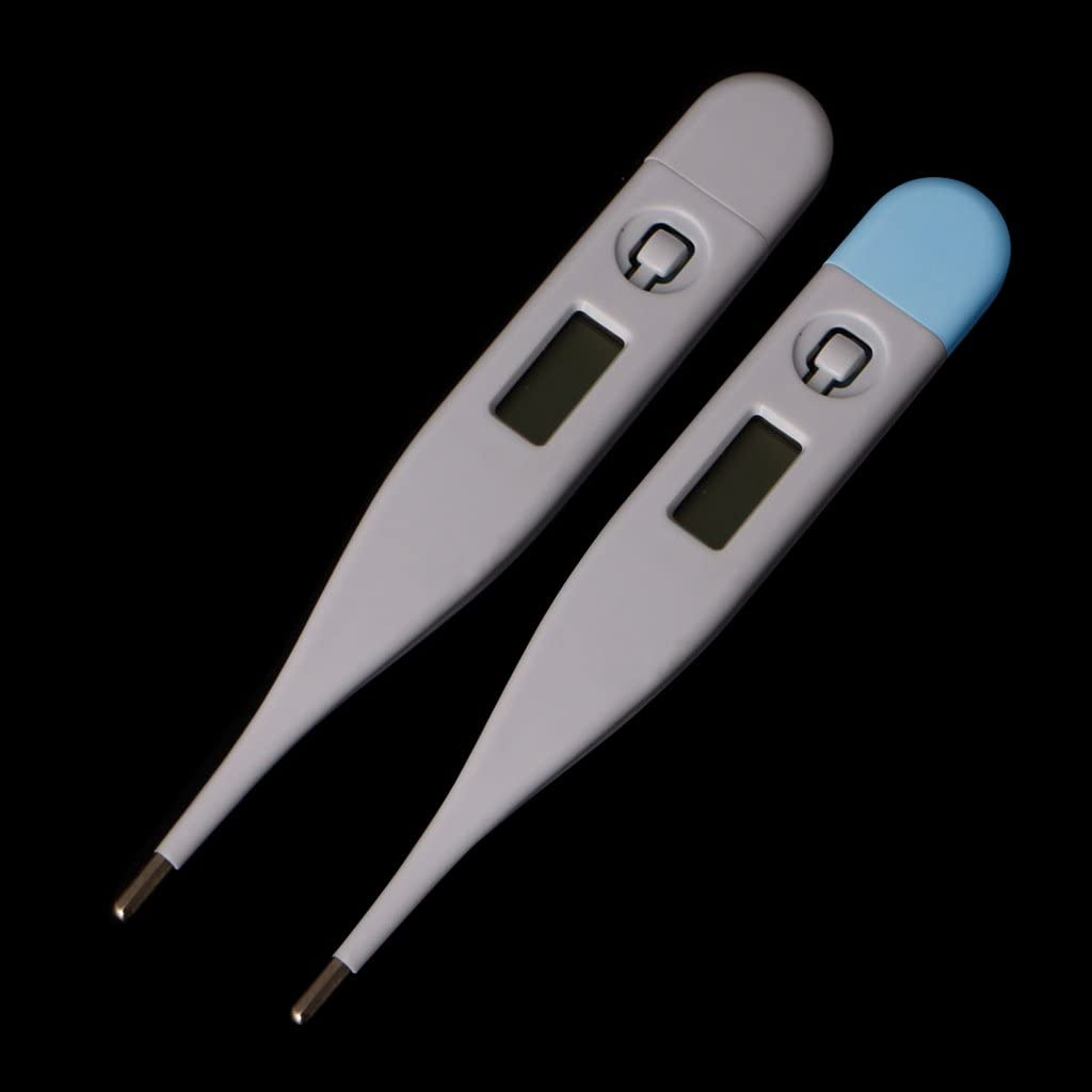 Mayoaoa Fieberthermometer Baby Zuhause LCD Digital Medical Baby K/örperthermometer Mund Unterarmtemperatur Digitales Fieberthermometer
